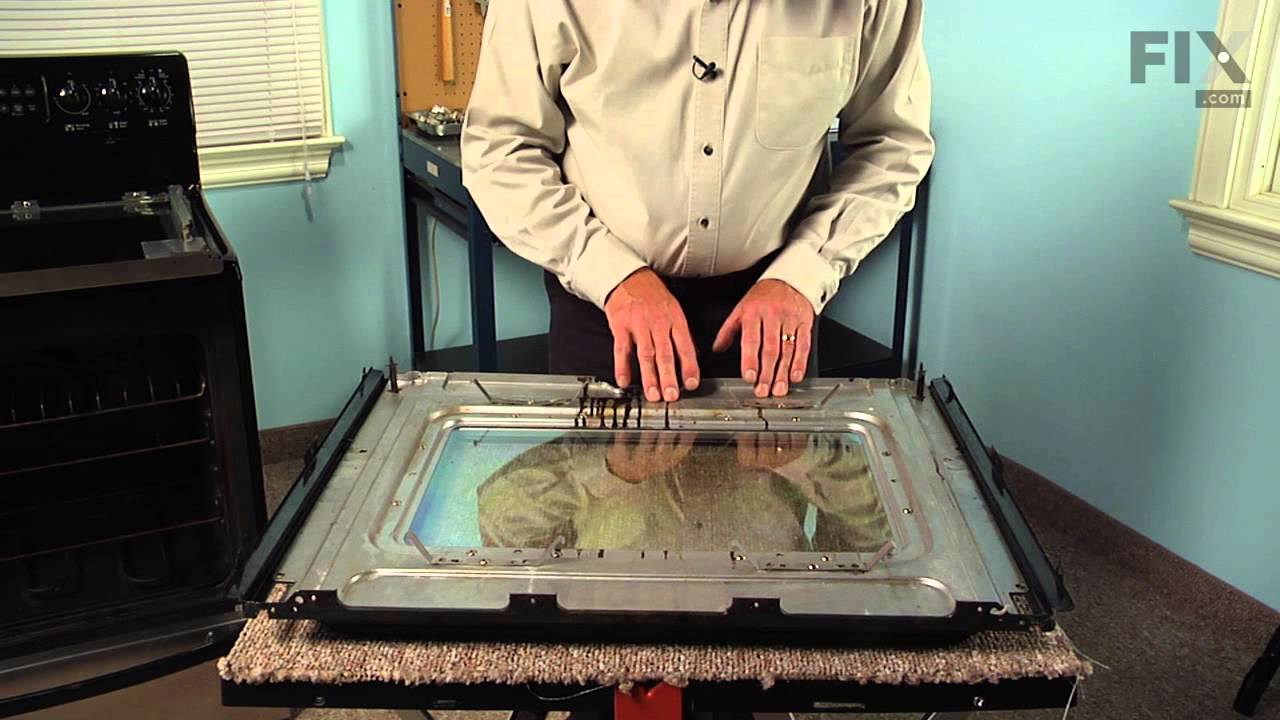 Frigidaire Range Repair How To Replace The Inner Oven Door Glass You