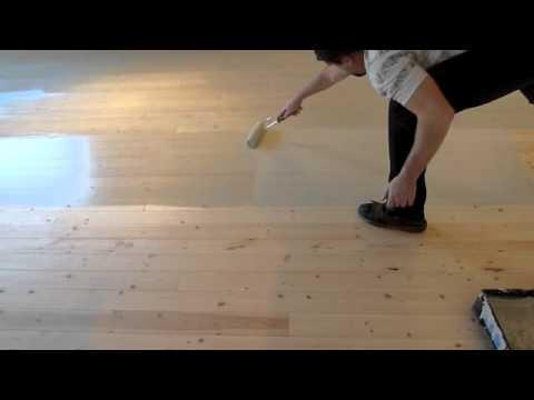 Milk Paint Wood Floor