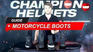 Motorcycle Boot Buyers Guide 2019 - ChampionHelmets.com