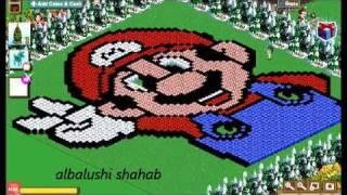 Farmville Art Design (super Mario) 2011