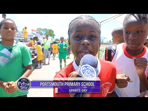 Sports Day in Jamaica.  Portsmouth Primary School Sports Day