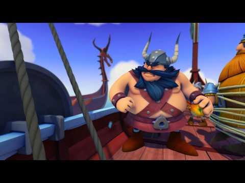 Wickie und die starken Männer - Das Ungeheuer - Folge 21   HD