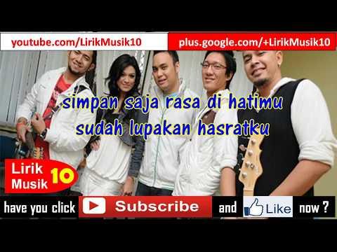 Ecoutez - Simpan Saja (LIRIK) | OFFICIAL LYRIC VIDEO @LIRIKMUSIK10