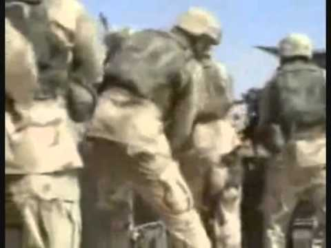 Iraq War Raw Combat Footage 4th Cav Op Smackdown