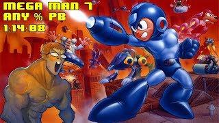 Mega Man 7 Speedrun PB (1:14:08)