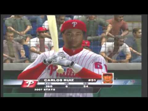(Rays Vs Phillies) (2K Sports Major League Baseball 2K8 PS2)