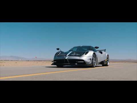Pagani Huayra BC – High Speed Run