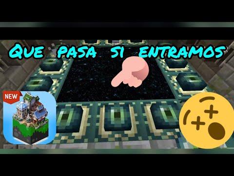 Que Pasa Si Entramos Al Portal Al END En Mastercraft | Eriksen AMG