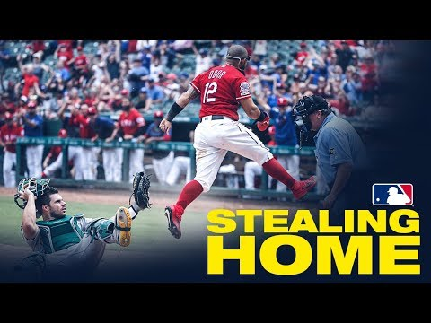MLB Players Stealing Home!