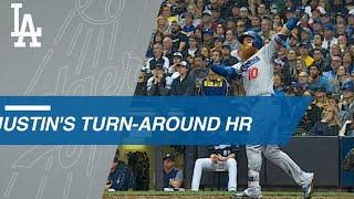 Justin Turner's go-ahead two-run homer in Game 2
