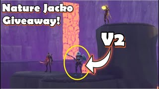 Fortnite Save The World Giveaway (Nature Jack O) and More!