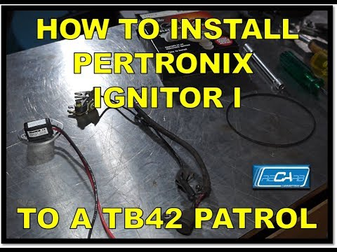 Episode 2- How to Install Pertonix Ignitor I into a Nissan Patrol TB42