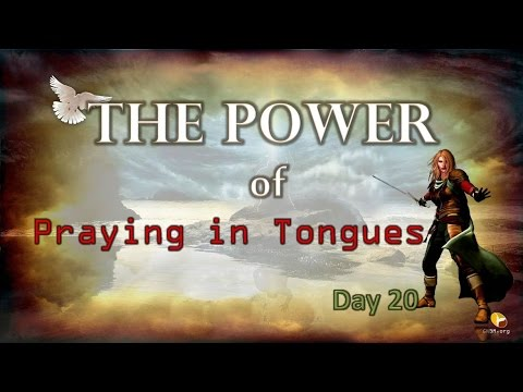 Prayer Warriors 365-Day 20 - Power of Praying in Tongues ...