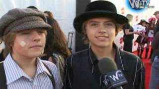 Dylan and Cole Sprouse interview at  Children affected by Aids 16th Annual Dream Halloween