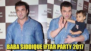 Sohail Khan At Baba Siddique's Iftaar Party 2017   Bollywood Updates