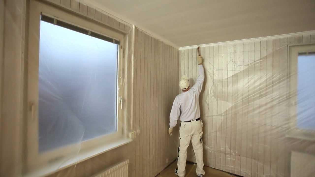 Slik maler du paneltak med pensel og rulle