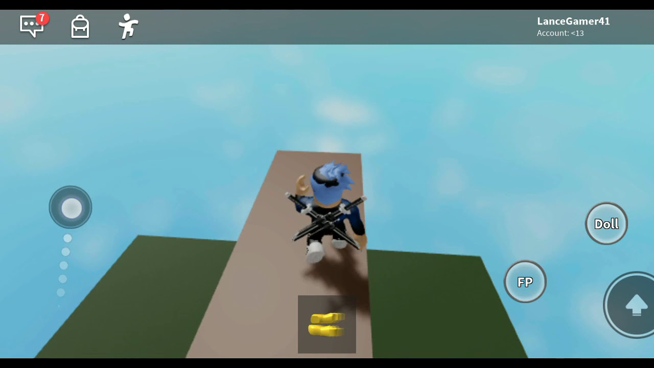Push A Ragdoll Of A Baseplate Roblox Pushing People At Ragdoll Engine Roblox Youtube