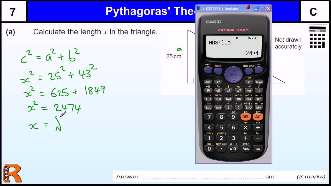 Pythagoras theorem gcse maths revision exam paper practice help pythagoras theorem gcse maths revision exam paper practice help youtube robcynllc Image collections