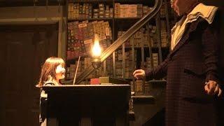 USJ ハリーポッター 杖 選び オリバンダーの店 おでかけ  Universal Studios family fun The Wizarding World Of Harry Potter thumbnail