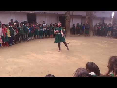 Nice Dance of a school girl..........