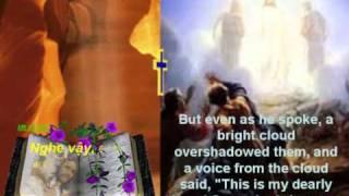 """CNMC_II-A: """"Đây là con yêu dấu của Ta, Ta hài lòng về Người. ..."""" (Mt 17:1-9)"""