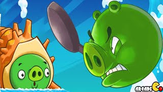 Angry Birds Fight! - SUPER SAZAE PIG Hardest Monster Pig Part 87! iOS/iPad