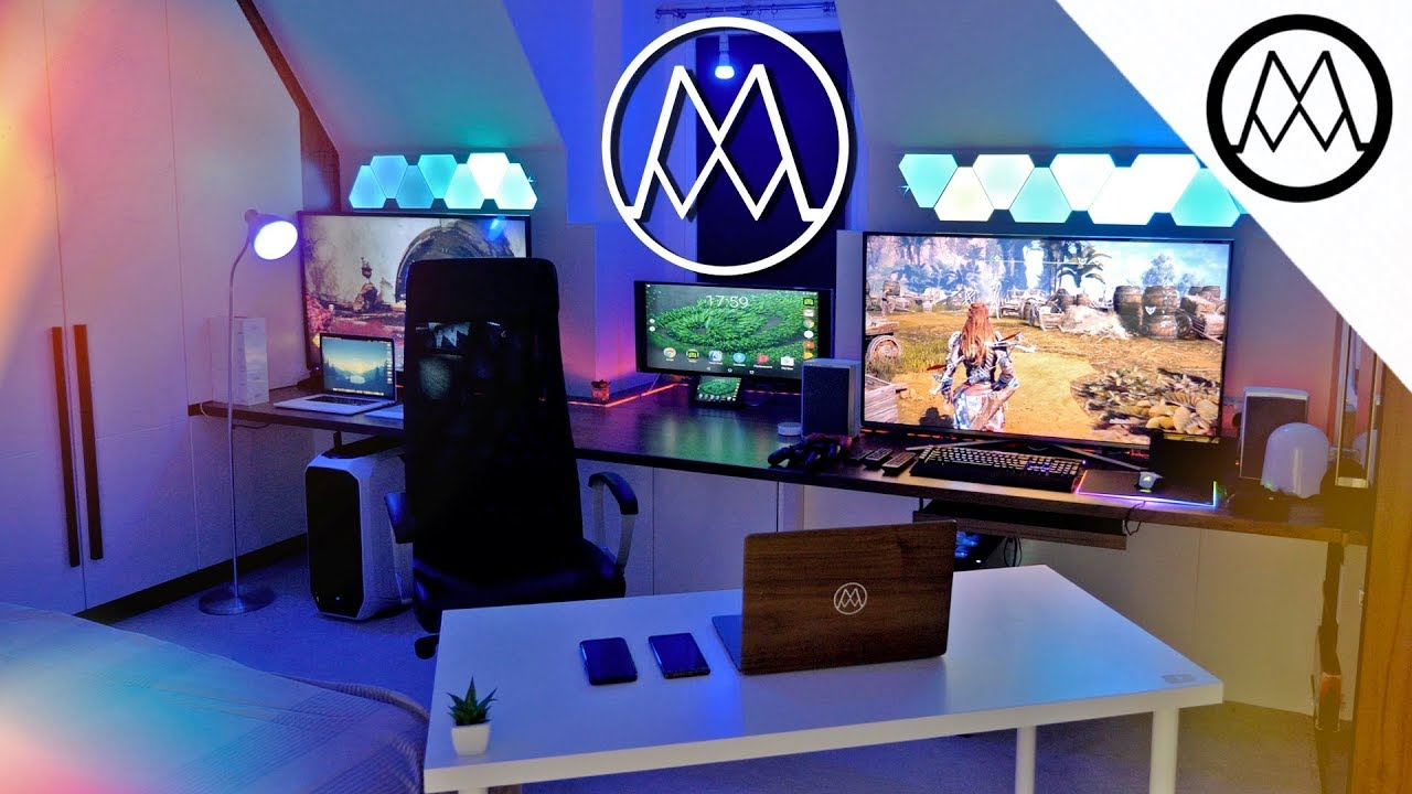 COLOSSAL $20,000 PC Gaming Setup [2017   2018]
