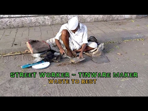 Street Worker - Scoop Tinware Maker