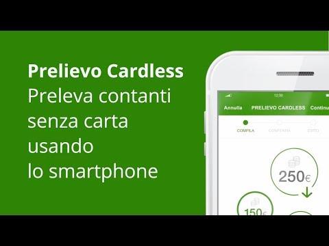 Preleva contanti senza carta con lo smartphone - App Intesa Sanpaolo