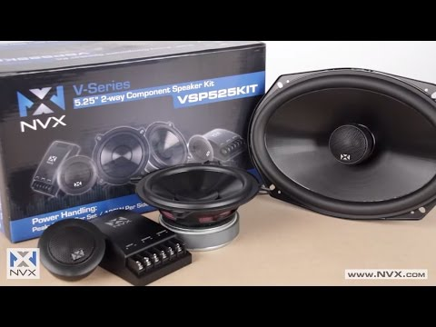 NVX V-Series Car Speakers