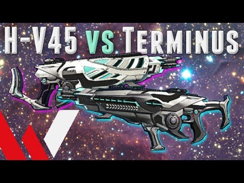 H-V45 versus Terminus VX-9 (PlanetSide 2 Weapon Review and Gameplay)