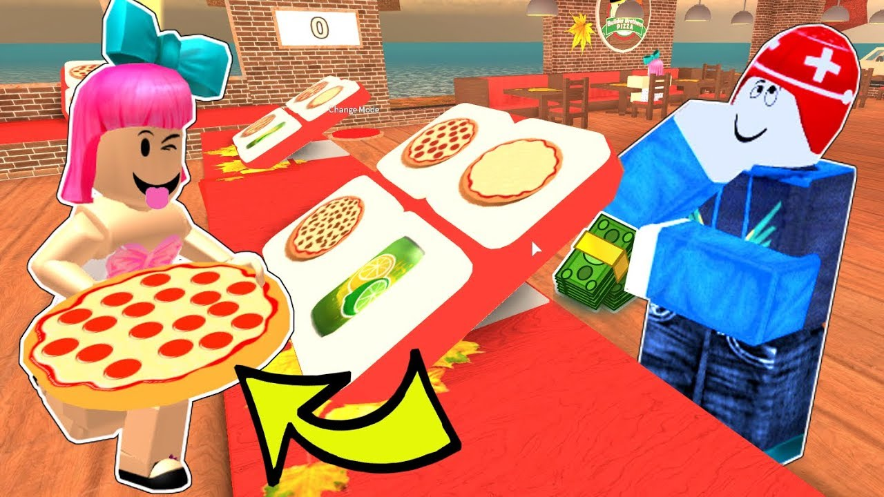 Roblox I Got A Job At A Pizza Place - ejob is here roblox