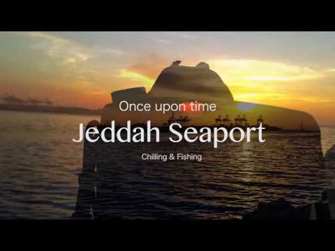 Jeddah seaport  Chilling & Fishing  Time-lapse
