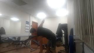 Упражнения с гантелями: разминка