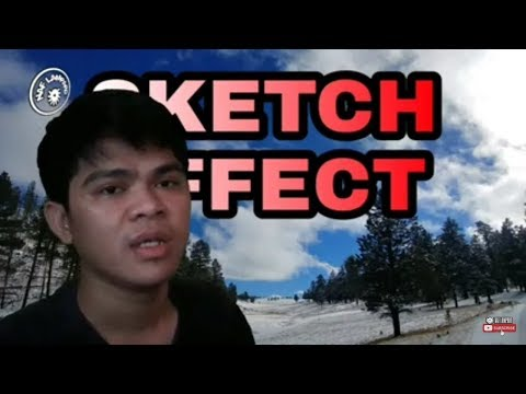 Cara Edit Half Sketch Effect | PicsArt Tutorial | Naf Lampard thumbnail