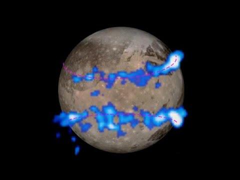 شاهد: غلاف غانيميد أحد أقمار كوكب المشتري غني ببخار المياه   …