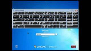 Wie Zurücksetzen eines Windows-Kennworts Durch eine Hintertür