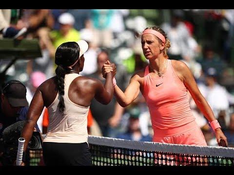 2018 Miami Semifinals | Victoria Azarenka vs. Sloane Stephens | WTA Highlights