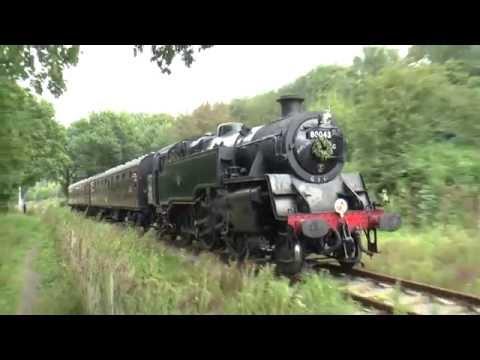 S&DJR Midsomer Norton with 80043 ,18-09-16