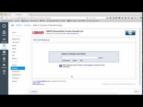 EDS Curriculum Builder - Library Hacks - FIU Libraries at