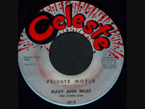 MARY ANN MILES - PRIVATE WORLD