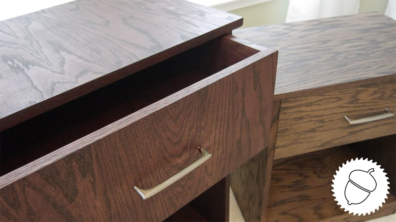 How To Build A Pair Of Nightstands With Free Plans