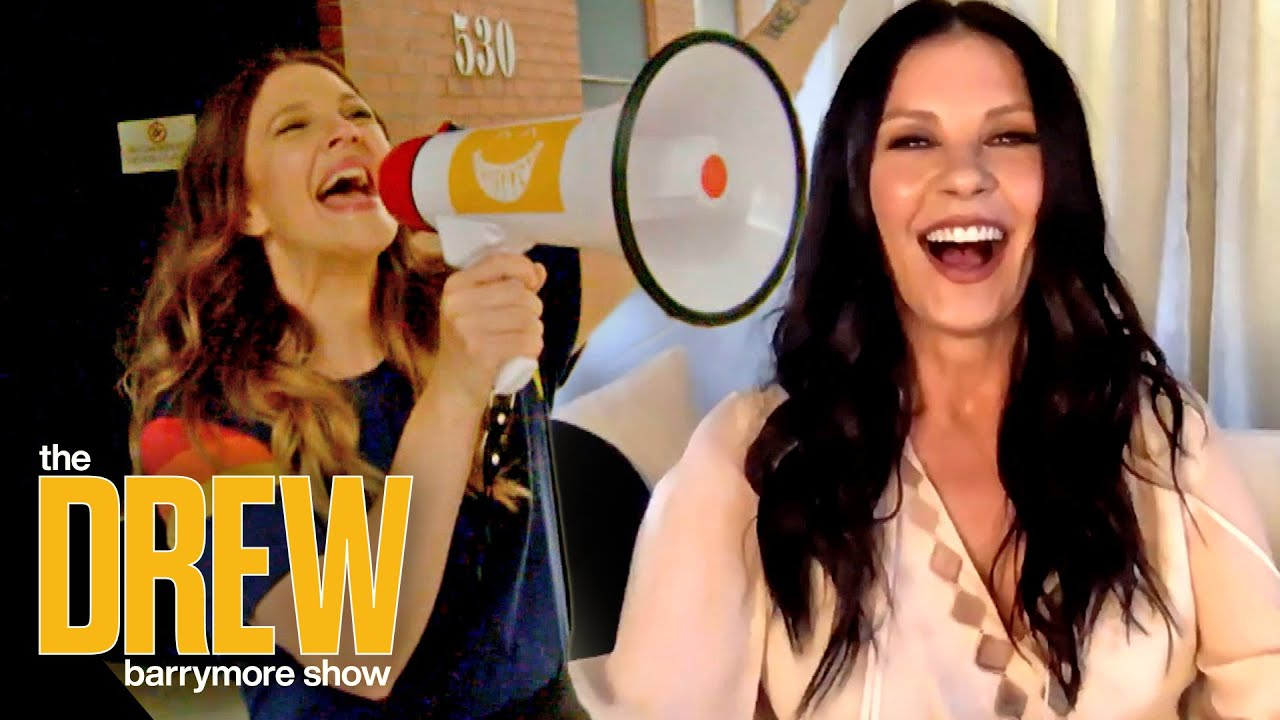 Catherine Zeta-Jones and Drew Bond Over Their Unusual Love of Mondays