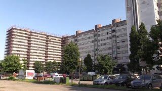 Milano, la voglia di ripartire delle 'Case Bianche':