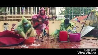 Em gái mưa- phiên bản mặc áo mưa| guitar cover|