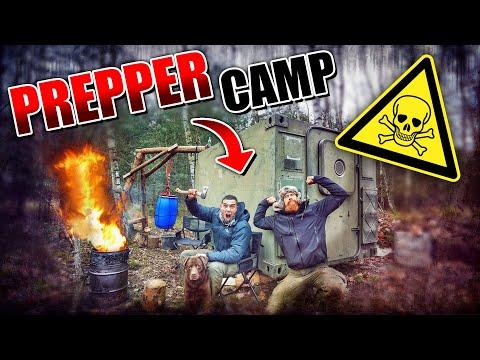 @SurvivalMattin zu Besuch im - Prepper Camp #007 | Fritz Meinecke