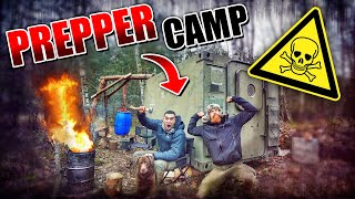 Survival Mattin im - Prepper Camp #007 | Fritz Meinecke