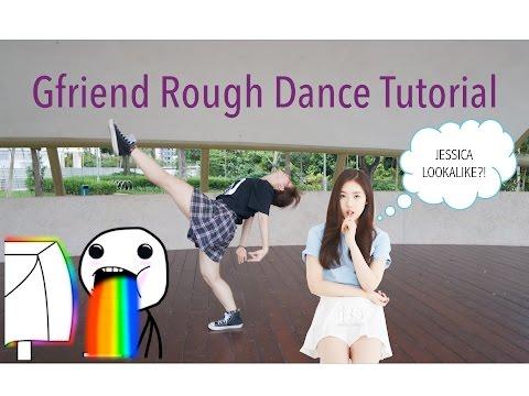 GFRIEND - Rough Dance Tutorial | FULL Mirrored [Charissahoo]
