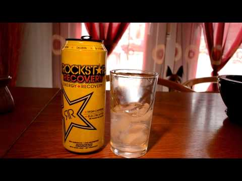 Rockstar Recovery Lemonade Review