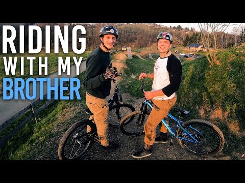 mein-bruder-fährt-mtb---riding-with-my-brother